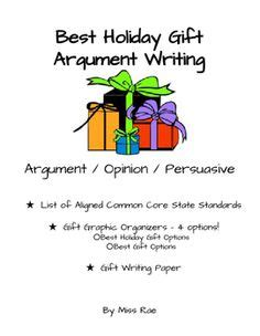 Essay Maps for Special Education Students - Argument, Info